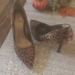 Leopard Print Heel!